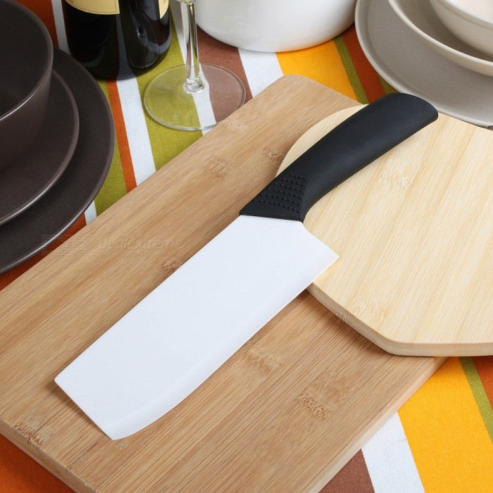 6.5 Chic Chefs Horizontal Ceramic Knife (16.5CM-Blade)Ceramic Knife<br>Form  ColorWhitePacking List<br>