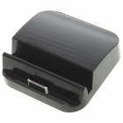 Data and Charging Docking Station with 3.5mm Audio + Mini USB Port for Apple iPad 2 (Black)