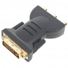 DVI 24+5 Male to 3RCA Component Adapter