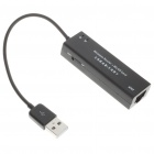 USB 2.0 802.11n/b Dynamic Wireless Router + WLAN Card - Black