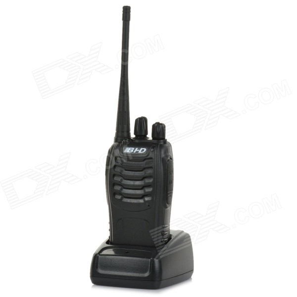 B-868 Rechargeable 3W 400-470MHz 16-Channel Walkie Talkies with LED Flashlight