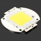 30W 7000K 2500LM LED Emitter Metal Plate - White (30~36V)