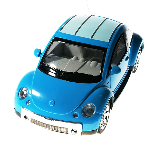 R/C Beetle Car with LED Headlights and Brake Lights (with Rechargeable Batteries)