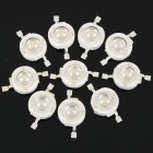 1W 60-70LM 525nm Green LED Light Bulbs (3.2-3.4V/10-Piece Pack)