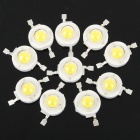 1W 80-90LM 6000K White LED Light Bulbs (3.2-3.4V/10-Piece Pack)