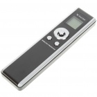 650nm Wireless USB Presenter with Red Laser Pointer - Silver + Black (2 x AAA)