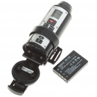 Waterproof 720P 5M Pixel CMOS Vehicle Mount Video Recorder/Camcorder w/ Red Laser/HDMI/TV-Out/SD