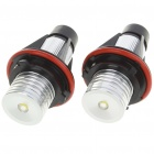 3W Angel Eyes White Light Bulb for BMW E39/E53 + More - Pair (8~30V)
