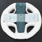 2-in-1 Steering Wheel for PS3 Move and Wii Racing Games - White