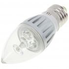E27 3W 240-270LM 6000-6500K White LED Light Blub (85~265V)