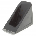 Unique Triangle Shaped Charging Stand with Blue Light for Nintendo 3DS - Black (4.6-5.2V)
