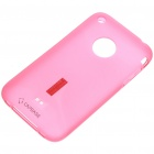 Designer's Protective Soft Back Case w/ Stand Holder/Screen Guards/Carrying Pouch for iPhone 3G/3GS