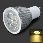GU10 5W 5-LED 4000K 450-Lumen Warm White Light Bulb (AC 85~260V)