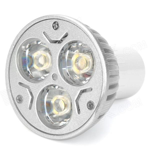 MR16 3W 3-LED 3500K 270-Lumen Warm White Light Bulb (AC 85~265V)