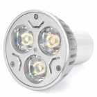 G5.3 3W 3-LED 3500K 270lm Warm White Light Bulb (220V)
