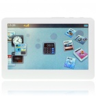 MP5 4.3&quot; Touch Screen LCD HD MultiMedia Player with FM/Camera/HDMI/TF Slot - White (800x480/4GB)