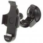 Plastic Car Swivel Mount Holder with Charging + AUX-Out for iPhone 4 (DC 10.5~18V)