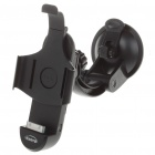 Plastic Car Swivel Mount Holder with Charging + AUX-Out for iPhone 3G/3GS (DC 10.5~18V)