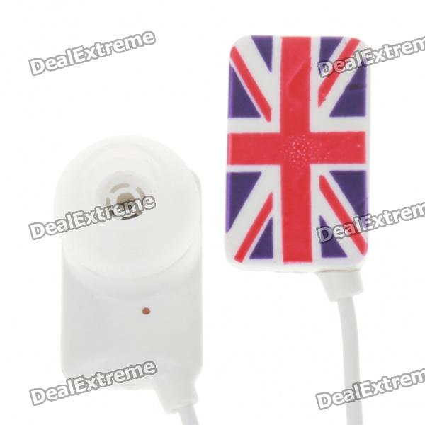 Stylish National Flag Style Noise Isolation In-Ear Earphones - UK (3.5mm Jack/95CM-Cable)