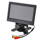 "Portable 7"" TFT LCD Monitor with AV In (480 x 234 / 12V DC)"