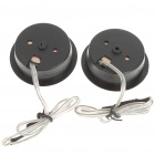 120W Dome Tweeter Component Speakers for Car Stereo Audio System (Pair)