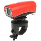 RD32 5.0 Mega Pixels HD 720P Waterproof Action Video Camera with 8-LED - Red (TF)