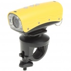 5.0 Mega Pixels HD 720P Waterproof Action Video Camera with 8-LED Night Vision - Yellow (TF)