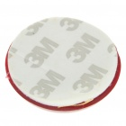 Safety Ball Shaped Reflective Warning Sticker for Vehicles - Red