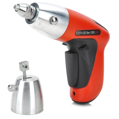 Electronic Power Lock Pick Gun - Red + Black + Silver