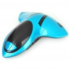 Cool Fighter Jet Shaped MP3 Music Speaker with USB/SD Slot - Blue