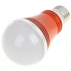 E27 5W 5-LED 430 Lumen 6500K White Light Bulb (AC 85 ~ 245V)