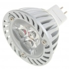 MR16 3W 3-LED 260 Lumen 3500K Warm White Light Bulb (12V)
