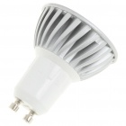 GU10 3W 260lm 3500K Warm White Light 3*LED Cup Bulb (AC 85~245V)