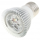 E27 3W 3-LED 260lm 6500K Cool White Light Bulb (AC 85~245V)