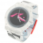 Stylish Waterproof Transparent Resin Watch (1 x 377)