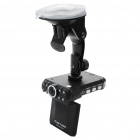 5.0MP Wide Angle Digital Car DVR Camcorder w/ Night Vision/AV/SD/Motion Detection (2.5' TFT LCD)