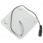 White Light 8-LED PIR Sensor de movimento ativado lâmpada (6 ~ 24V AC / DC)