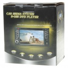"6.2"" LCD Touch Screen DVD Media Player with FM/TV Tuner/GPS"