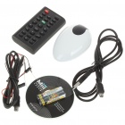 PC Computer Remote Controller with USB 2.0 Receiver (2 x AAA)