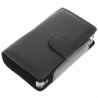 Protective PU Leather Case for Nintendo 3DS - Black