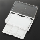 Protective Plastic Case with Card & Stylus Storage Drawer for NDSL - White