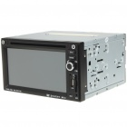 "6.1"" LCD Touch Screen DVD Media Player with FM/AV-IN/SD/USB"
