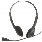 KM-800 Headphone with Microphone - Black (3.5mm Jack/148CM Cable)