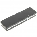 Mini Rechargeable Voice Recorder with MP3 Player (2GB)