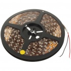 Waterproof 72W 595nm 300x5050 SMD LED Yellow Light Flexible Strip with Power Switch (5-Meter/DC 12V)