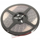 Waterproof 24W 6500K 300x3528 SMD LED White Light Flexible Strip with Power Switch (5-Meter/DC 12V)