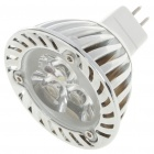 MR16 3W 6500K 260-Lumen 3-LED White Light Bulb (12V)