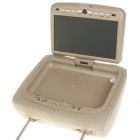 "Car Headrest 9"" LCD DVD Media Player with FM/AV In & Out/SD/USB"