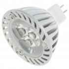 MR16 3W 240-260Lumen 6000-6500K White LED Light Bulb (12V)