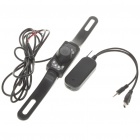 Wireless 300K Pixel Waterproof Car Licence Plate Rear View Camera with 7-LED Night Vision (12V)